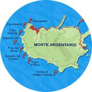Immersioni subacquee presso l'Isola dell'Argentario