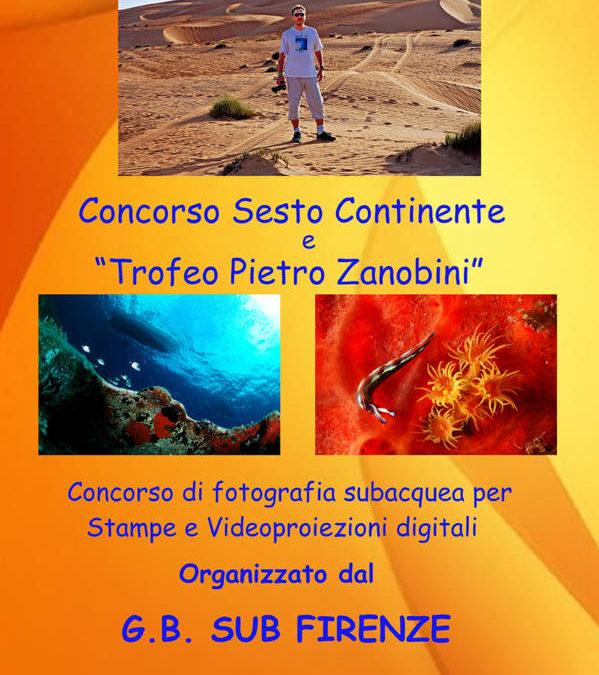 Concorso Sesto Continente. Trofeo Zanobini 2016. Classifiche